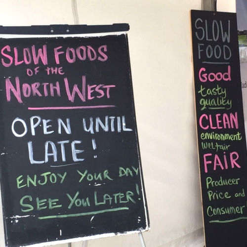 Slow Food from the North West