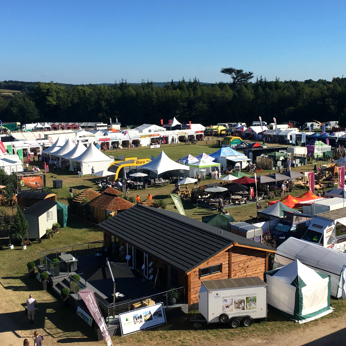 Just a very small section of the Countryfile Live showground!